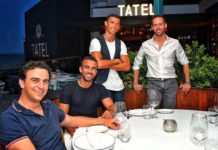Abel Matutes Prats Jr and Manuel Campos Guallar. as well as Enrique Iglesias, tennis star Rafa Nadal as well as basketball pros Pau Gasol and Rudy Fernández, own the TATEL Resturants