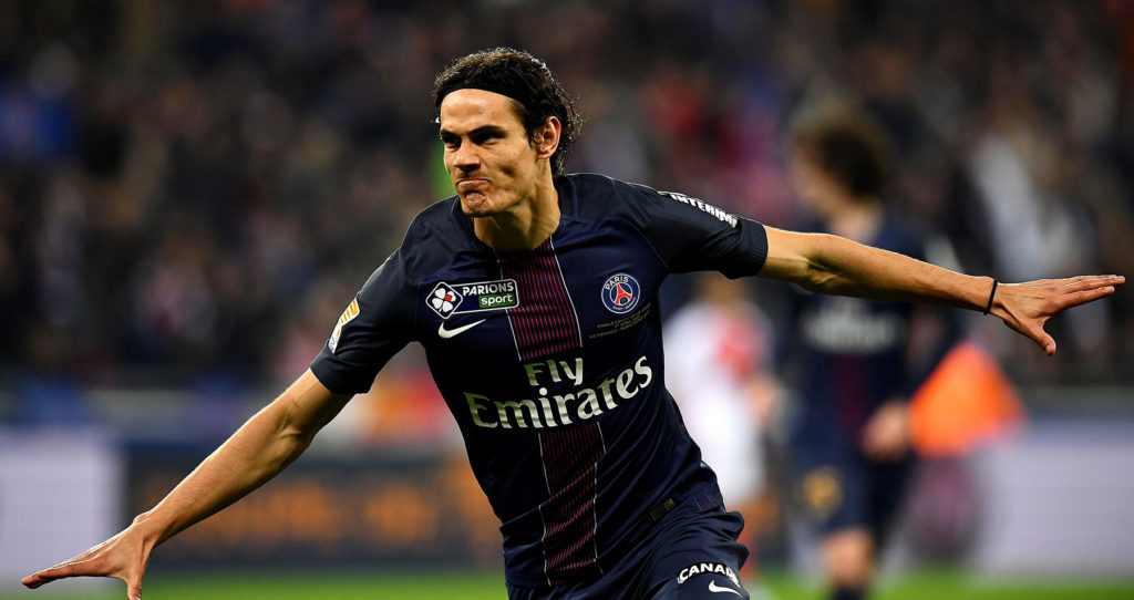 Edinson Cavani 2017 Ballon d'Or