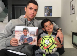 Cristiano Ronaldo named as the most charitable athlete