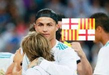 BARCELONA TERRORIST ATTACK: Cristiano Ronaldo and the Barcelona flag