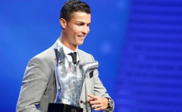 Cristiano Ronaldo wins UEFA Best Player of the Year award