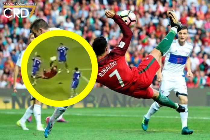 Ronaldo's bicycle goal for Portugal is proof of persistence