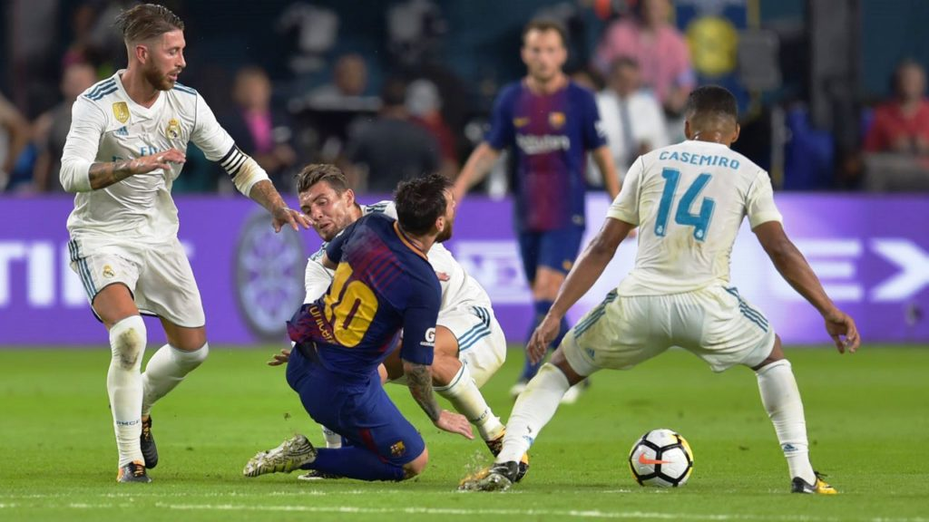 Ronaldo did not feature in his side's 3:2 loss in El Clasico Miami