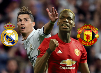 Real Madrid vs Manchester United UEFA Super Cup