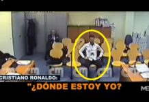Cristiano Ronaldo testifying in court