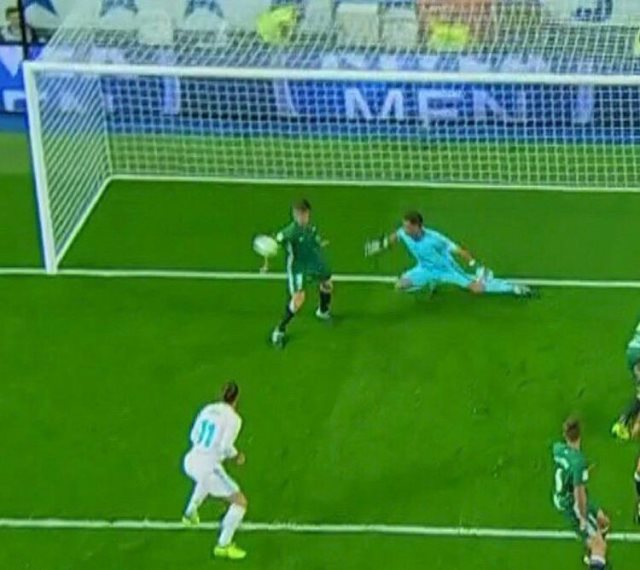 Handball decision not awarded to Real Madrid against Real Betis