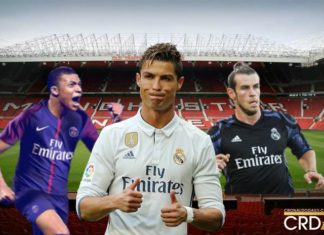 Ronaldo's heir at Real Madrid was Kylian Mbappe.