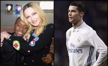 Ronaldo convinces Madonna to make her son join Sporting