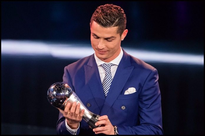 Ronaldo wins FIFA Men's player award 2016