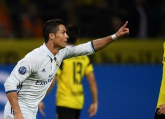 Borussia Dortmund vs Real Madrid on September 26