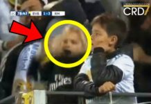 Little girl does Ronaldo' SUIII celebration after witnesing Cristaino Ronaldo score against Borussia Dortmund