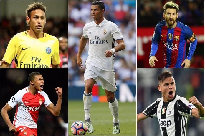 Ballon d'Or 2017 shortlist