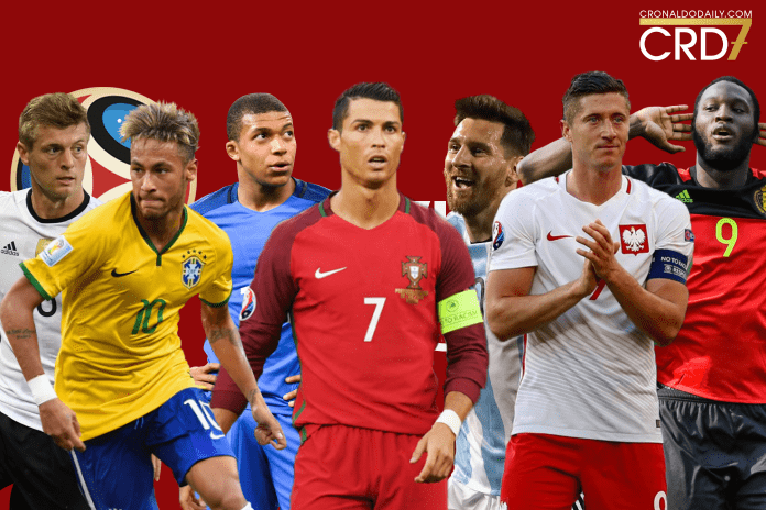 FIFA World Cup 2018 star players from Pot 1