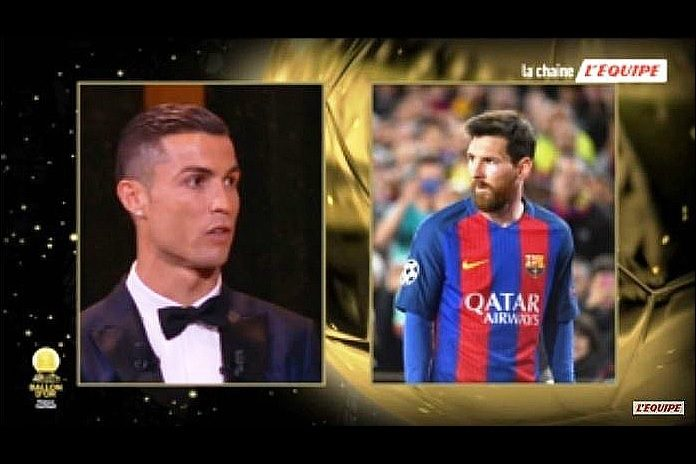 Ballon d'Or 2017 ceremony: Cristiano Ronaldo on Messi Rivalry