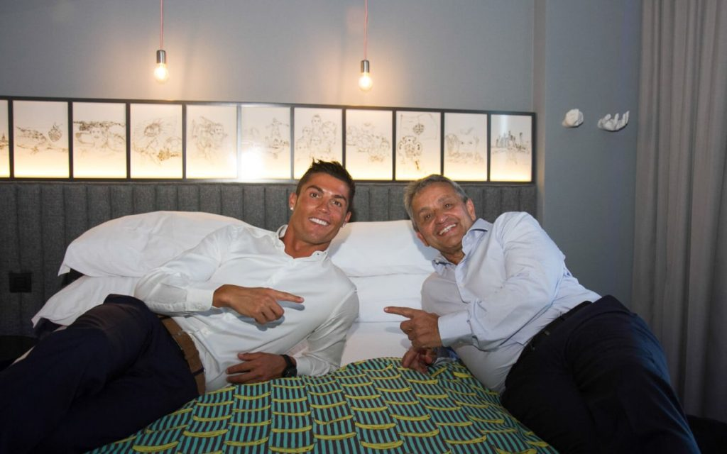 Cristiano Ronaldo and the Pestana CR7 Lifestyle Hotel