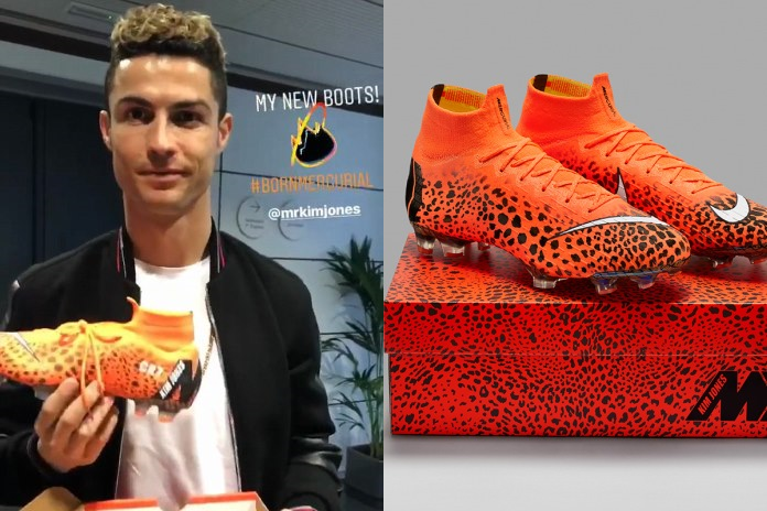 2e0d98a9f Ronaldo to debut Nike Mercurial cheetah boot against PSG