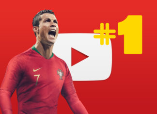 Cristiano Ronaldo king of Youtube