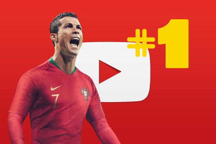 Cristiano Is Youtube S Most Watched Soccer Star In Usa And England