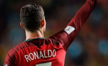 Cristiano Ronaldo number 7 captain