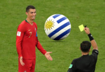 Cristiano Ronaldo yellow card (1)