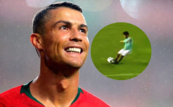 Ronaldo is proud of Cristiano Ronaldo Junior