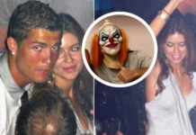 Cristiano Ronaldo's Halloween clown mask could hide a message aimed at Kathryn Mayorga's rape allegations, the ex-model who seduced him on the dancefloor in Las Vegas on June 13, 2009.