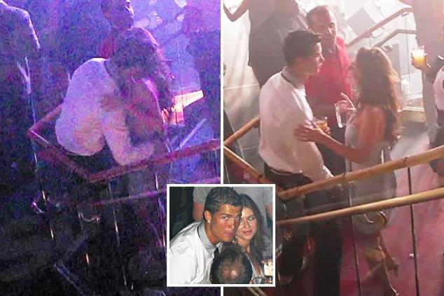 Kathryn Mayorga and Cristiano Ronaldo grinding dance in Las Vegas before alleged rape