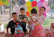 Working mom Georgina Rodriguez with Cristiano Ronaldo Junior, Mateo Aveiro, Eva Aveiro, and Alana Martina Aveiro.